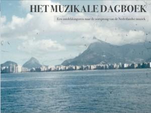 De voorzijde van het fotoboek dat Sebastiaan gemaakt heeft tijdens zijn muzikale wereldreis.